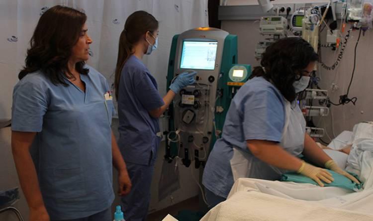 Hospital de Évora tem a partir de agora nova de terapia para lesão pulmonar aguda