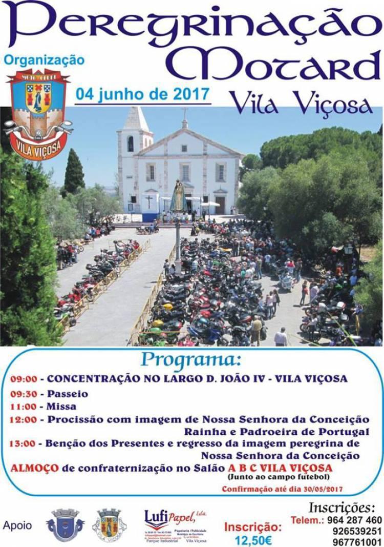 Vila Viçosa receberá peregrinação Motard a 4 de junho