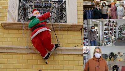 Comerciantes de V.Viçosa mantém esperança num Natal atípico que leve a população ao comércio local (c/som)