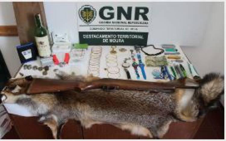 Amareleja: Recuperado material furtado em residência