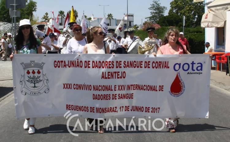 """Convívio Nacional e Internacional de Dadores de Sangue, reuniu 900 pessoas que dão vida de forma """"benévola, voluntária e anónima"""" (c/som e fotos)"""