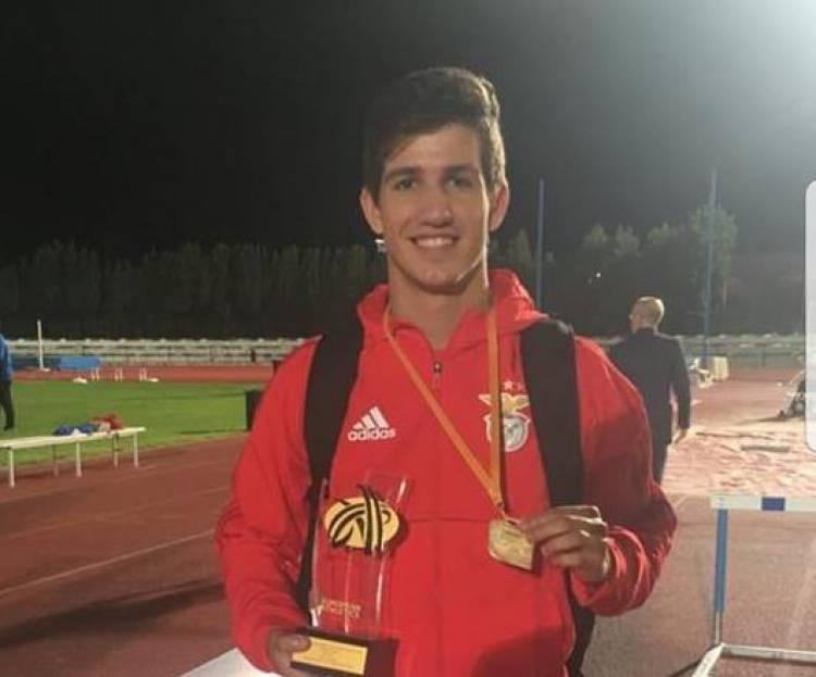 João Geadas sagra-se campeão europeu de atletismo pelo Benfica