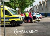 Homem de bicicleta atropelado por veículo ligeiro em Vila Viçosa (c/fotos)