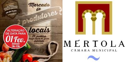 Mercado de Produtores Locais de Mértola no próximo sábado