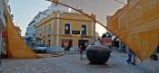 Beja - Instaladas telas de ensombramento na zona central da cidade