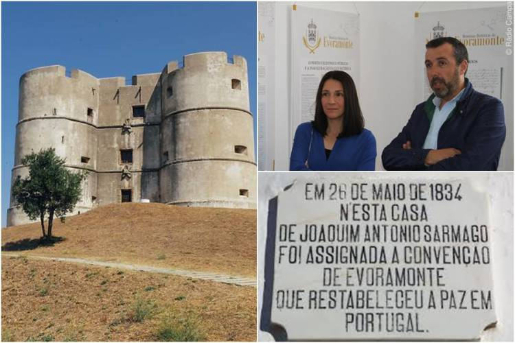 Évora Monte vai recriar assinatura da Convenção que deu fim à Guerra Civil em Portugal (c/som)