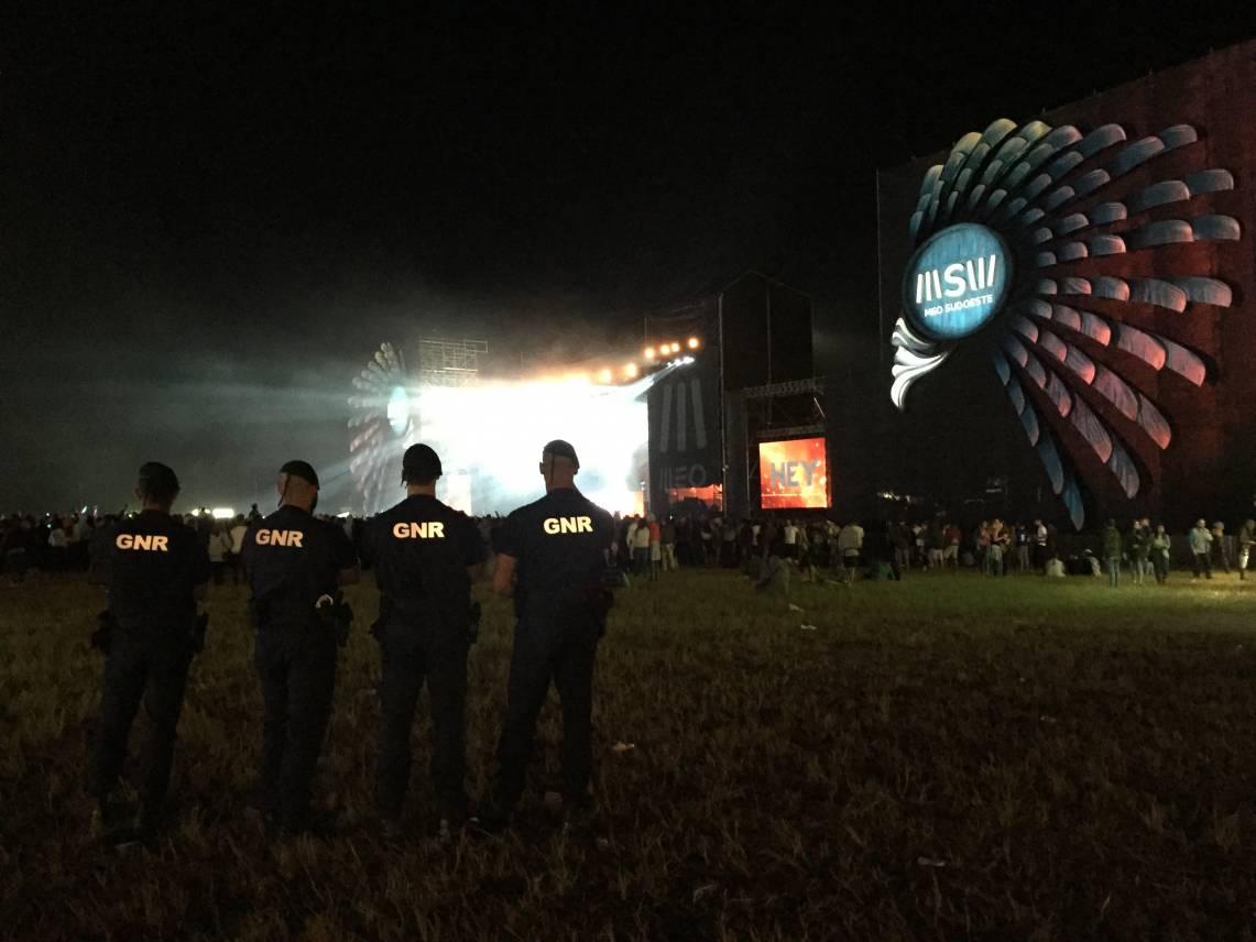 GNR deteve 14 no Festival Meo Sudoeste