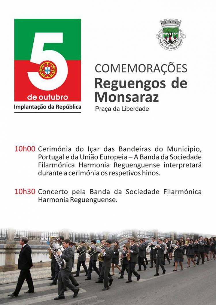 Reguengos de Monsaraz irá celebrar a Implantação da República