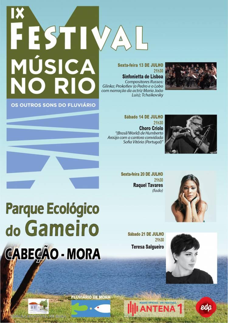 """Mora volta a receber """"Música no Rio – Os Outros Sons do Fluviário""""."""