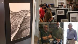 """Exposição de desenhos de Paulo Varela """"é uma forma de dinamizar o Museu Agrícola e Etnográfico de Vila Viçosa"""", diz Luís Nascimento (c/som e fotos)"""