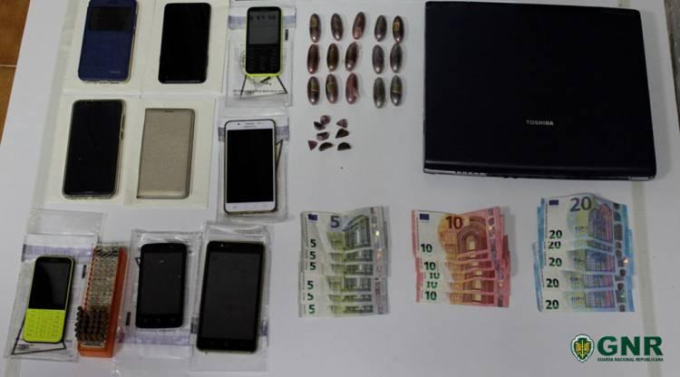 3 detidos em Beja por tráfico de estupefacientes