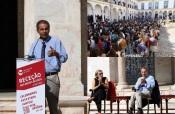 """""""Évora sem praxes, destaca-se pela integração de estudantes sem práticas humilhantes"""" diz Manuel Heitor, Ministro da Ciência, Tecnologia e Ensino Superior (c/som e fotos)"""