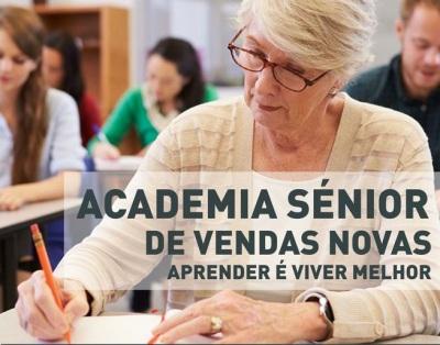 Academia Sénior de Vendas Novas tem abertas inscrições para o novo ano letivo
