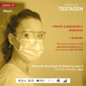 Testes gratuitos à Covid-19 : Centro de testagem de Odemira aberto à população