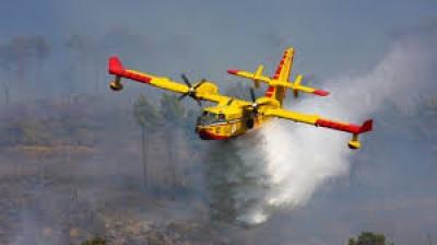 """1 morto e um ferido grave é o balanço do despiste de um avião """"Canadair"""" português que combatia incêndio na serra do Gerês"""