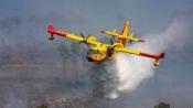 """1 morto e 1 ferido grave é o balanço do despiste de um avião """"Canadair"""" português que combatia incêndio na serra do Gerês faz"""