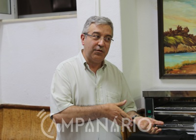 """""""A Provisão fundamenta a intervenção do Arcebispo de Évora porque perante o vazio institucional se não se fizesse nada perdiam-se postos de trabalho"""", explica Jorge Mateus (C/SOM)"""