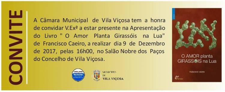 Francisco Caeiro apresenta mais um livro em Vila Viçosa