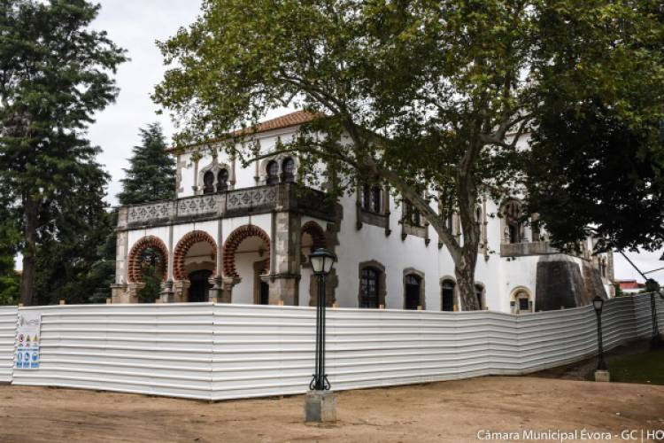 Arrancaram as obras de requalificação do Palácio de D. Manuel em Évora