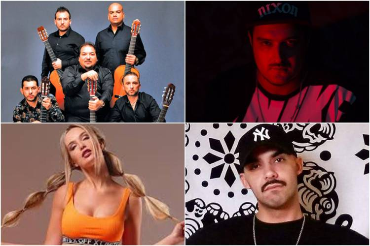 Gipsy Kings, Rwella e os DJs Zanova e Khabal fecham cartaz do Festival do Crato