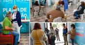 Covid-19: Arrancou hoje a campanha de vacinação à população do concelho do Crato