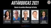 Autárquicas 2021: Debate dos candidatos à Assembleia Municipal de Borba, hoje às 18h