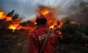 Incêndio próximo de Juromenha mobiliza cerca de 40 operacionais de 5 corporações de Bombeiros