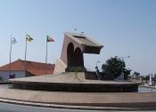 """Portalegre: Monumento da rotunda """"dos Dadores de sangue"""" vai ser demolido"""