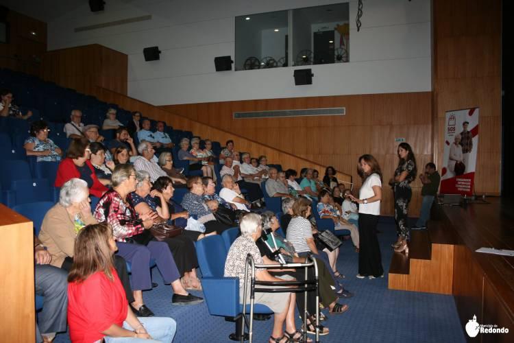 "Redondo recebeu o Workshop ""Os Direitos dos Consumidores Seniores"""