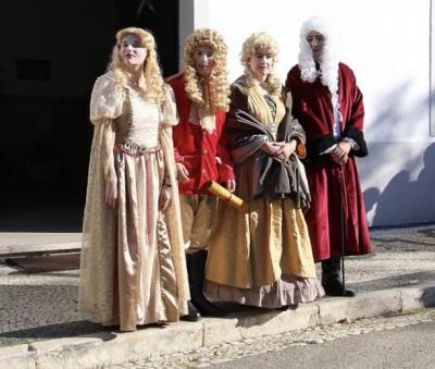 Recriação simbólica leva  D. João V e a família real a Vendas Novas