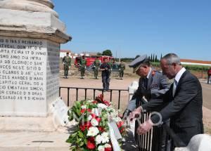 """Borba assinalou 353 anos da Batalha de Montes Claros para preservar """"a memória e a história"""", diz autarca (c/som e fotos)"""