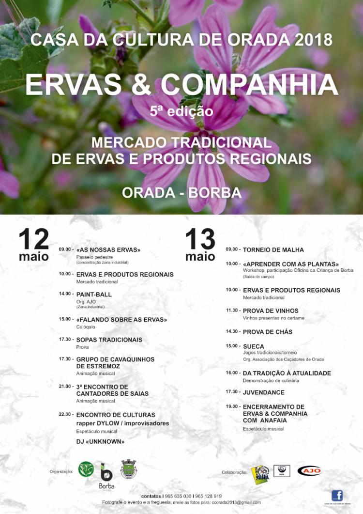 """Borba: Freguesia da Orada recebe este fim-de-semana o certame """"Ervas & Companhia"""""""