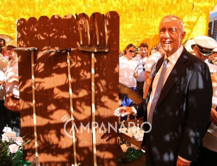 Campanário TV: A visita do Presidente da Republica às Ruas Floridas de Redondo (c/video)