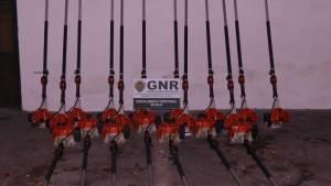 GNR recupera em Évora máquinas varejadoras de azeitona furtadas