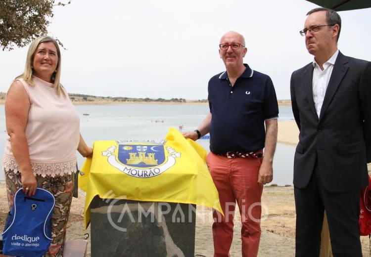 """Inaugurada Praia Fluvial de Mourão, a maior do Lago do Alqueva, que visa ser um """"destino turístico de excelência"""", diz Presidente do Município (c/som e fotos)"""