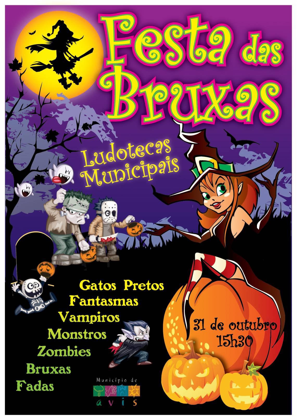 Ludotecas Municipais Celebram O Halloween Com A Festa Das Bruxas