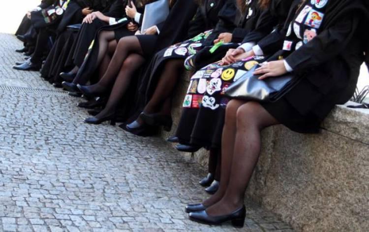 Universitários de Évora em protesto contra falta de quartos e aumento das rendas