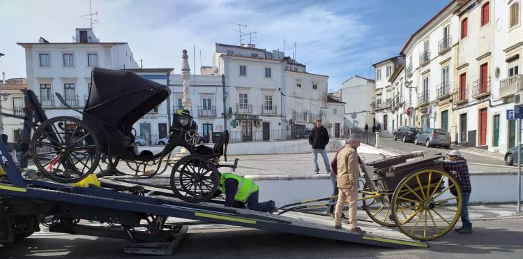Museu biblioteca da Casa de Bragança recebe mais 2 carruagens