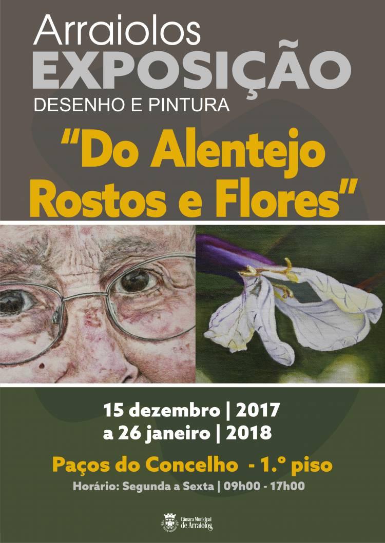 """Arraiolos recebe exposição """"Do Alentejo Rostos e Flores"""""""