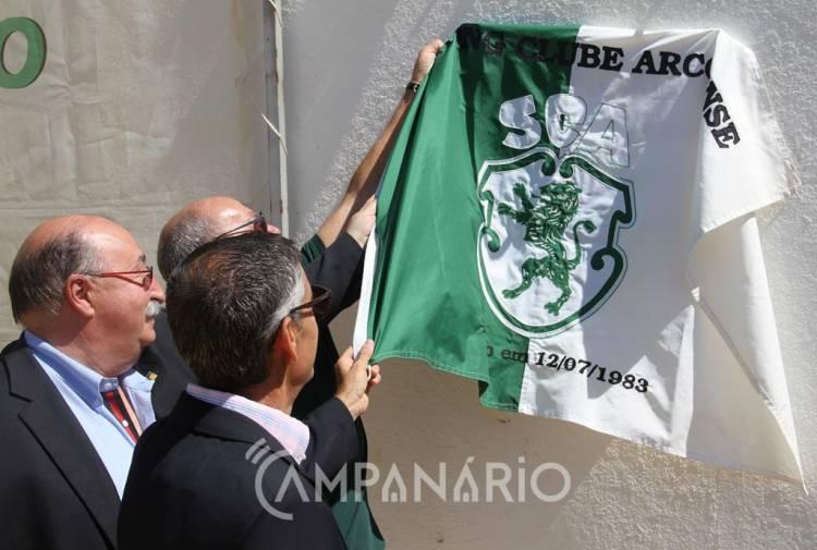 Campo de futebol Artur Jorge inaugurado em Arcos, substituindo campo pelado com mais de 30 anos (c/som e fotos)