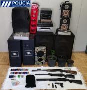 Elvas: PSP detém 5 pessoas e apreende várias armas e droga em mega-operação no Bairro de S. Pedro