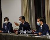 Médicos de Pediatria do HESE e PSD reunidos sobre a problemática do serviço de urgência(C/SOM)