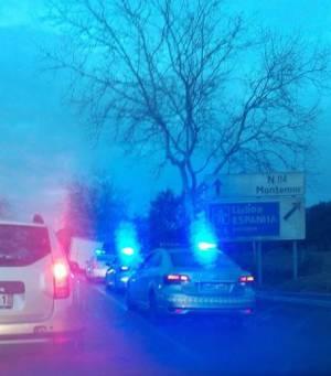 Despiste de pesado perto de Évora provoca ferido grave