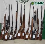Vidigueira: GNR apreende armas de fogo em investigação de violência doméstica