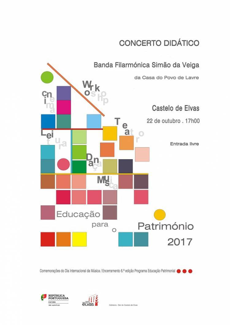 Elvas receberá concerto da Banda Filarmónica Simão da Veiga