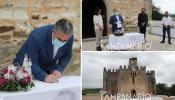 """Assinado protocolo para restauro e conservação do Santuário de Nossa Senhora da Boa Nova, em Terena: """"Esperámos 10 anos e é com alegria que assinamos este protocolo"""" diz João Grilo (c/som e fotos)"""