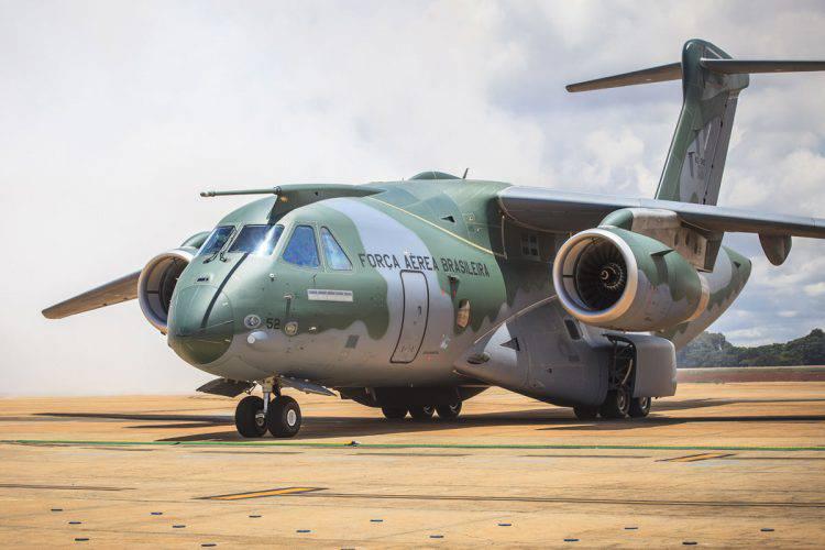 Tribunal de contas dá luz verde para compra de aviões KC-390 da Embraer