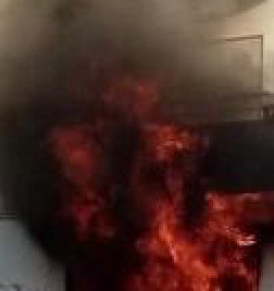 Incêndio em habitação no Vimieiro mobiliza 27 operacionais