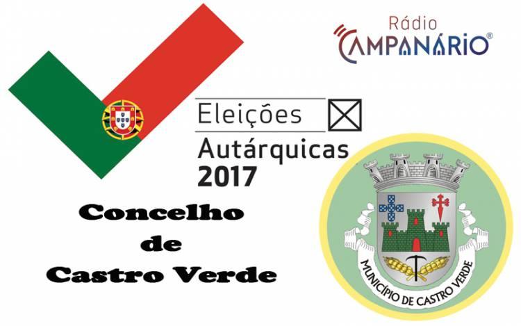 Autárquicas 2017: Os resultados eleitorais do concelho de Castro Verde (c/dados)